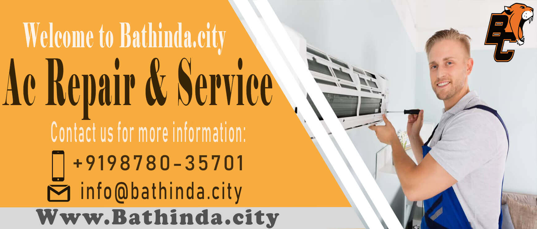 Ac repair Service in Bathinda